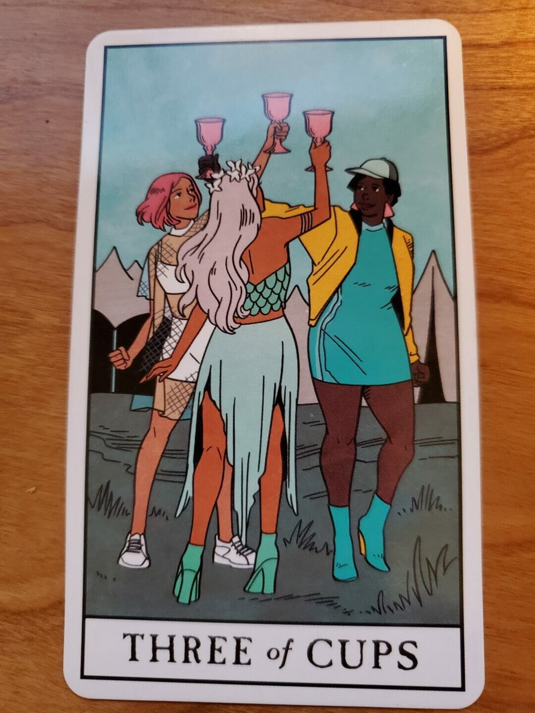Three of Cups: The Covid Quarantine Card?
