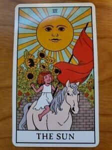 The Sun Tarot Reversals