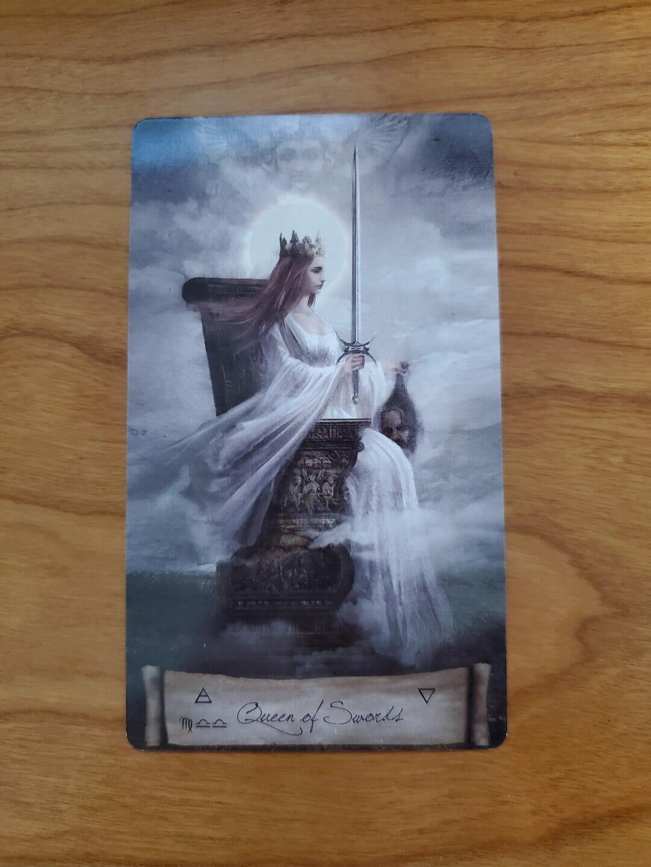 The Queen of Swords and Boundaries