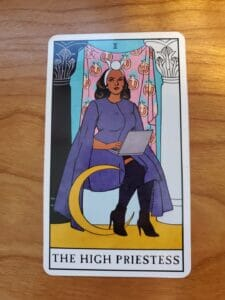 The High Priestess and Intuition