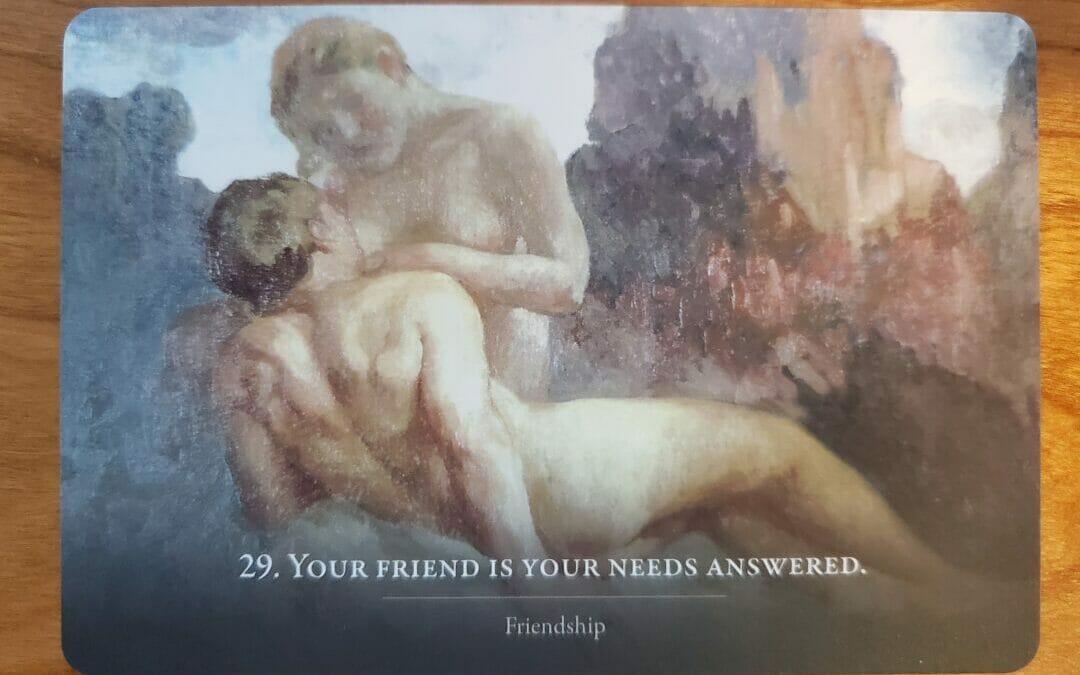 Friendship – Oracle Card of the Week