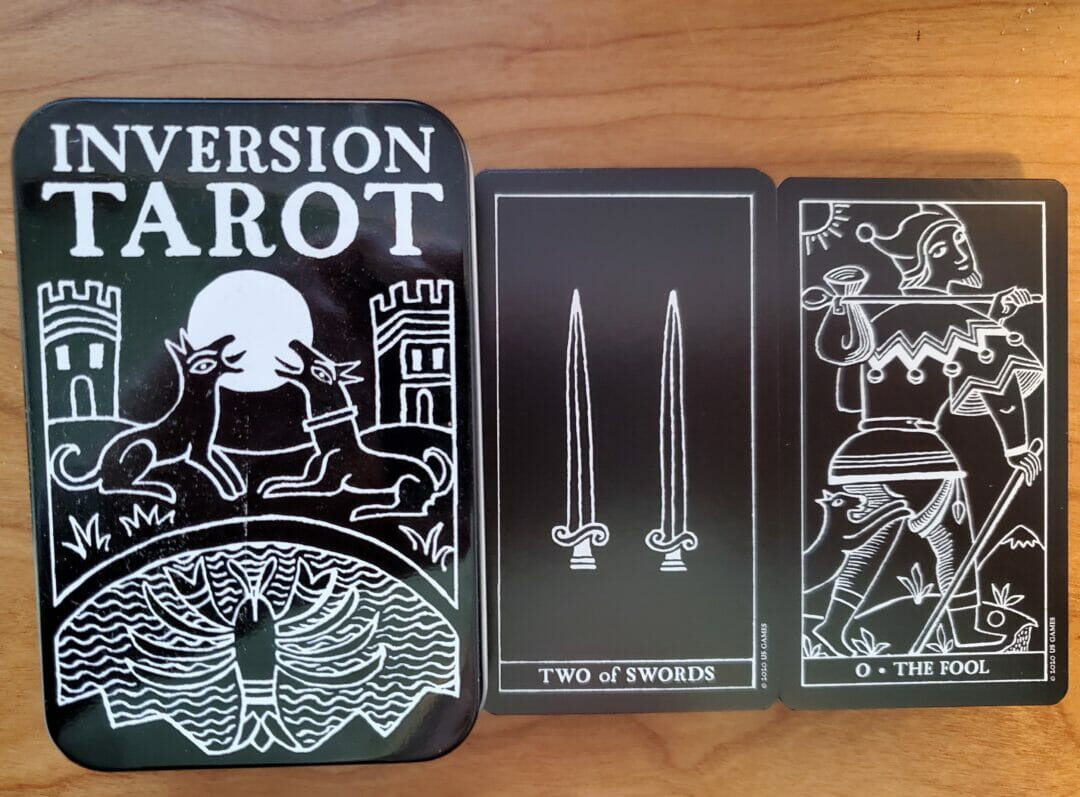 The Inversion Tarot – Black and White Simplicity
