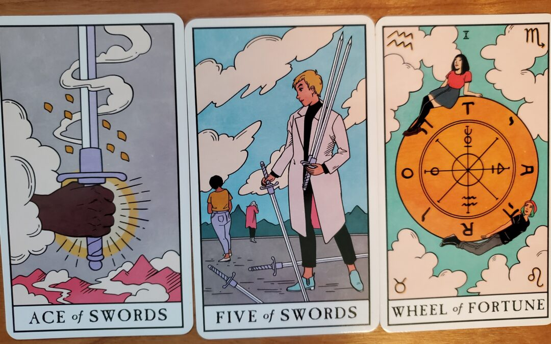 Swords, Strife, and Wheel of Fortune